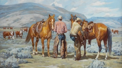 Paul Salisbury, Riders of the Range, 1953