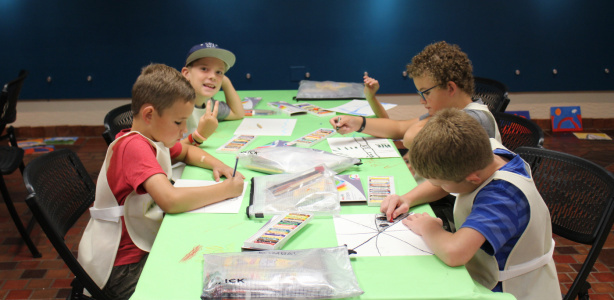 Summer Art Camp |Session 1 July 16th-19th, Session 2 July 30th-August 2nd