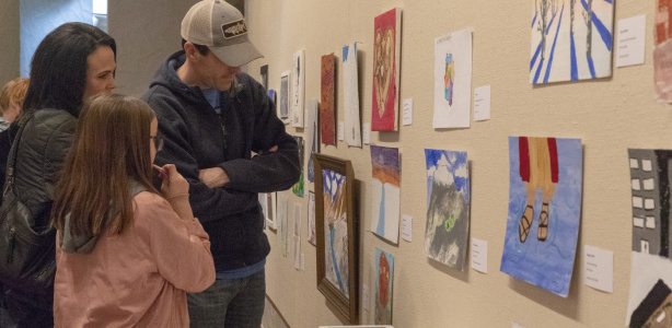 Youth Art Competition | Opening Reception Nov. 23rd 12:00-1:00 pm