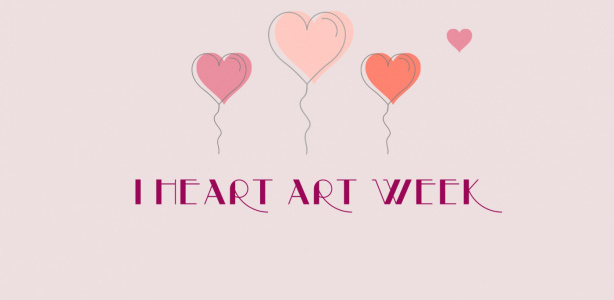 |Place hearts next to works of art that you love!