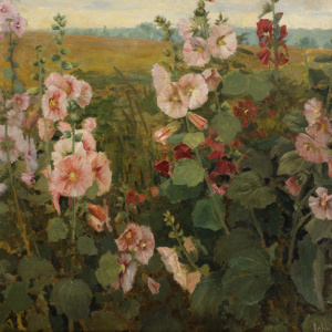John Hafen, Hollyhocks
